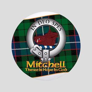 """Mitchell Clan 3.5"""" Button"""