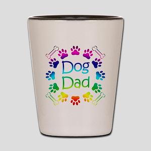 """""""Dog Dad"""" Shot Glass"""