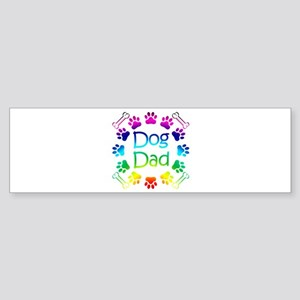 """Dog Dad"" Sticker (Bumper)"
