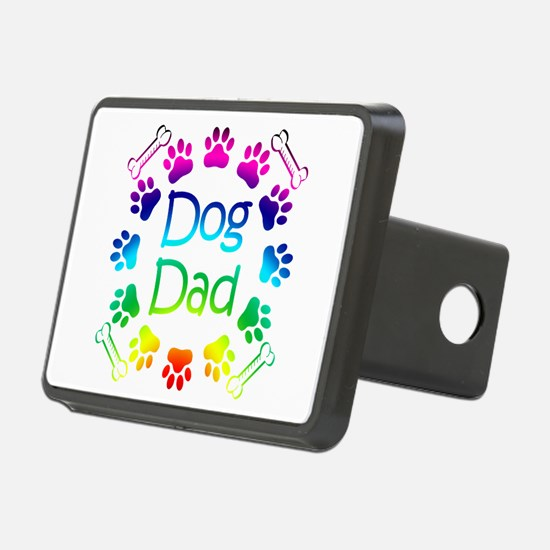 """Dog Dad"" Hitch Cover"