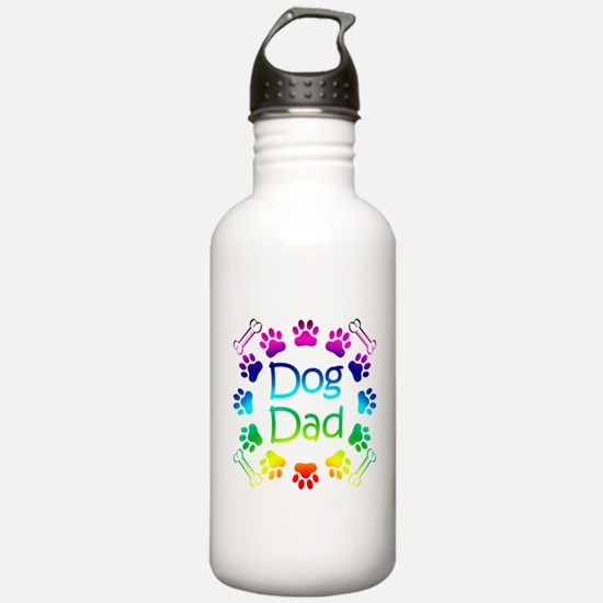 """Dog Dad"" Water Bottle"
