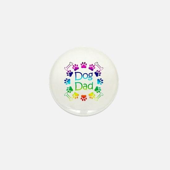 """Dog Dad"" Mini Button"