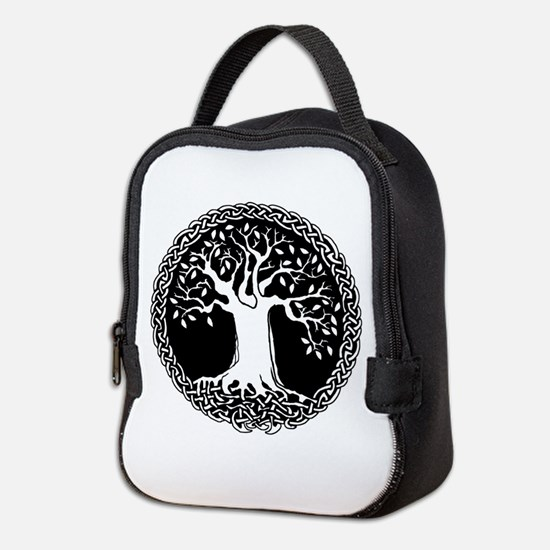 Celtic Tree Neoprene Lunch Bag
