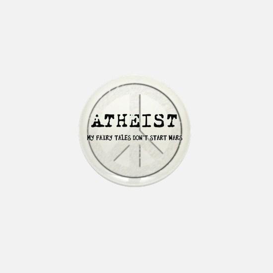 10x10_apparel_atheistpeace_white Mini Button