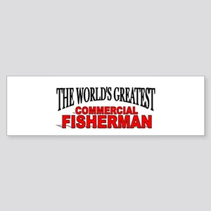 """The World's Greatest Commercial Fisherman"" Sticke"