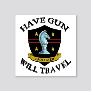 "haveguncenter Square Sticker 3"" x 3"""