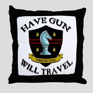 haveguncenter Throw Pillow