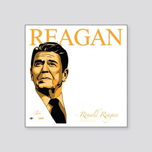 "FQ-11-D_Reagan-Final Square Sticker 3"" x 3"""