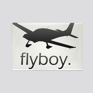 Flyboy Student Pilot Rectangle Magnet