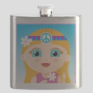 white girl Flask