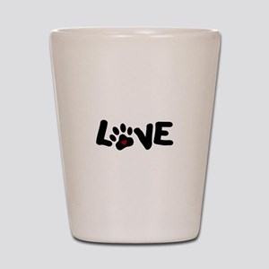Love (Pets) Shot Glass