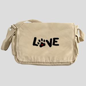 Love (Pets) Messenger Bag