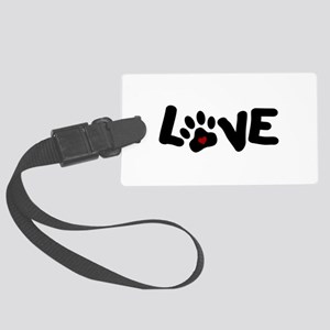 Love (Pets) Large Luggage Tag