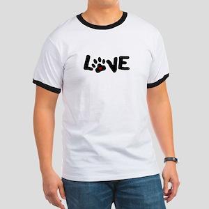 Love (Pets) Ringer T