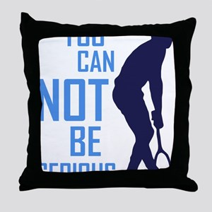 Mcenroe tribute Throw Pillow