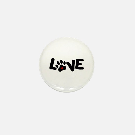 Love (Pets) Mini Button