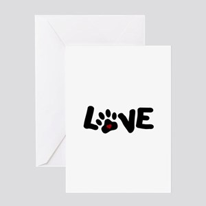 Love (Pets) Greeting Card