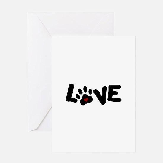 Love (Pets) Greeting Card