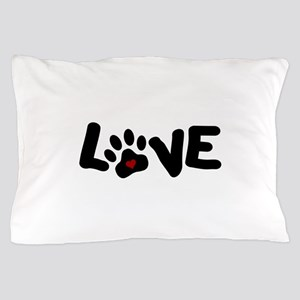 Love (Pets) Pillow Case
