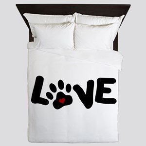 Love (Pets) Queen Duvet