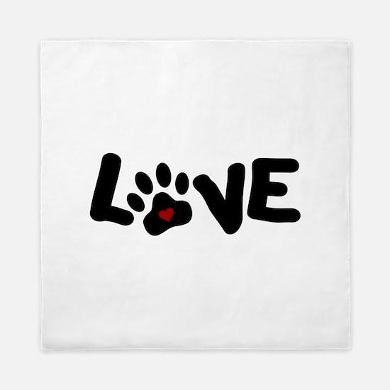 Love (Pets) Queen Duvet