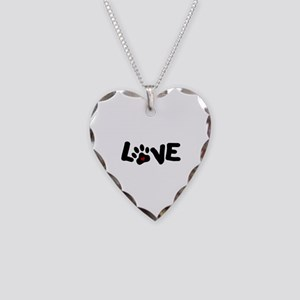 Love (Pets) Necklace Heart Charm