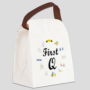 FirstQ Canvas Lunch Bag