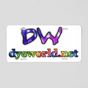 dwnet Aluminum License Plate