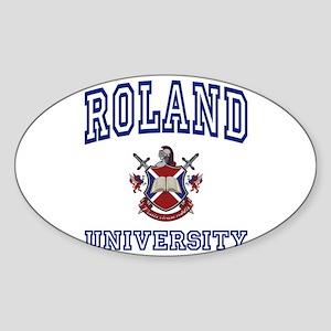 ROLAND University Oval Sticker