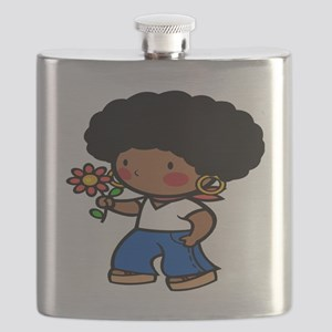 60s black girl Flask