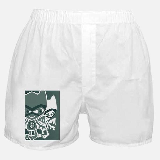 GargoyleGreetCardStencilP Boxer Shorts