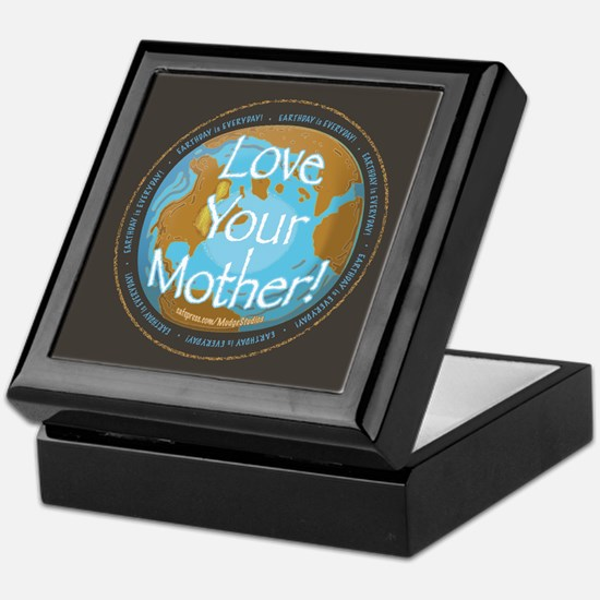 Love Your Mother Earth Day Keepsake Box