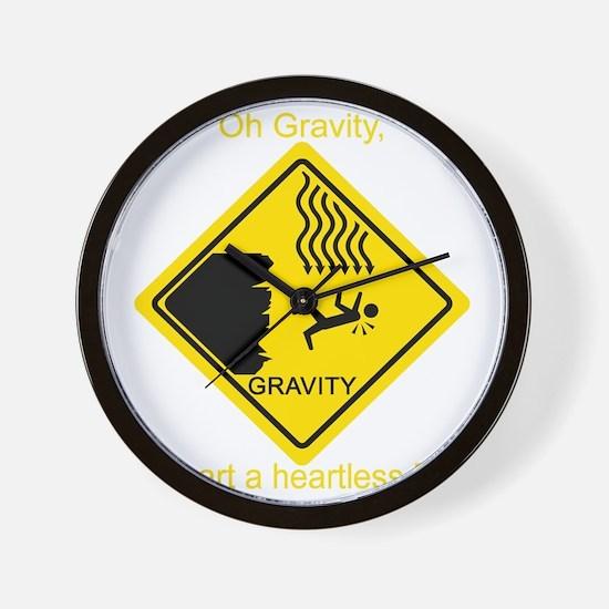 Gravity---BBT-Y Wall Clock