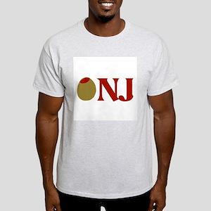 Olive (I Love) NJ Light T-Shirt