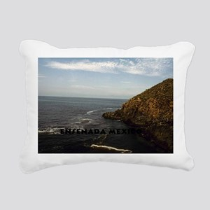 Blow Hole Ensenada Mexic Rectangular Canvas Pillow