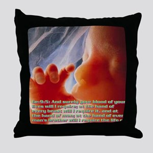 Genesis9@5(16) Throw Pillow