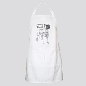 THE Bullmastiff BBQ Apron