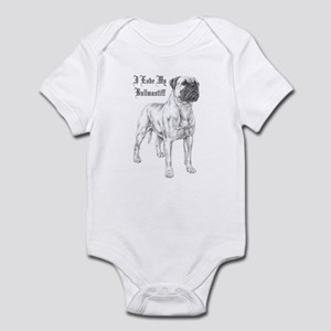 THE Bullmastiff Infant Bodysuit