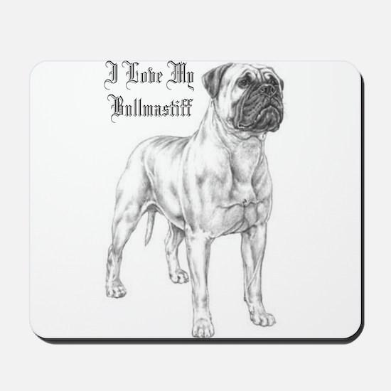 THE Bullmastiff Mousepad