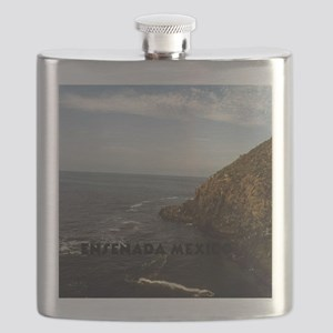 Blow Hole Ensenada Mexico-16x20 Flask