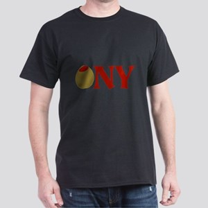 Olive (I Love) NY Dark T-Shirt