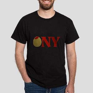 Olive (I Love) NY Dark T-Shirt
