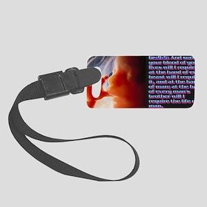 Genesis9@5(small framed print) Small Luggage Tag