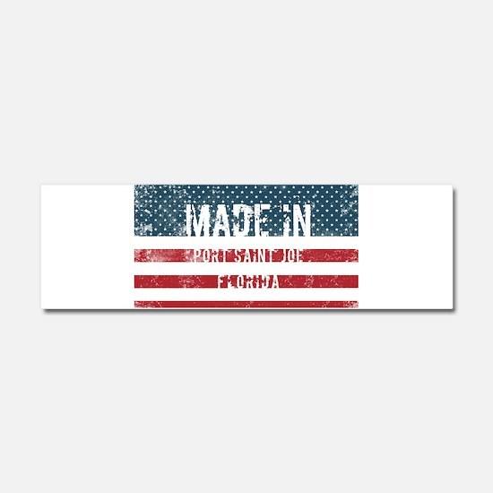 Made in Port Saint Joe, Florida Car Magnet 10 x 3