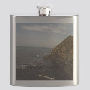 Blow Hole Ensenada Mexico-5.25x5.25 Flask