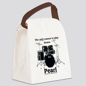 Pearl-design-1 Canvas Lunch Bag
