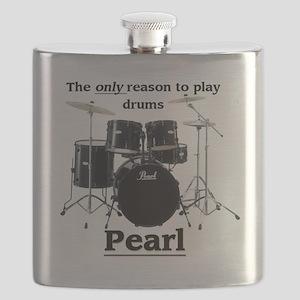 Pearl-design-1 Flask
