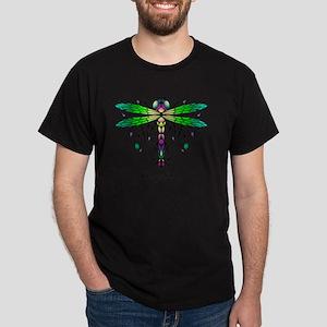 Caveglow Dragonfly pillow Dark T-Shirt