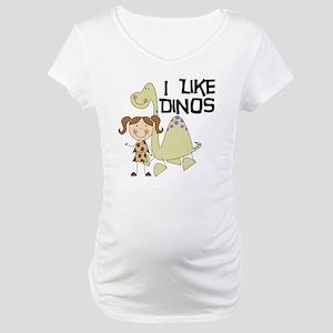 LIKEDINOS Maternity T-Shirt