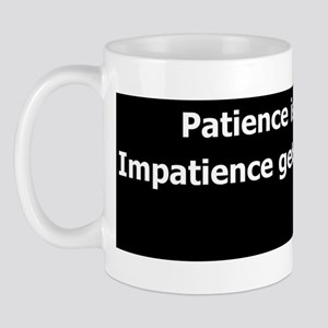impatience_bump Mug